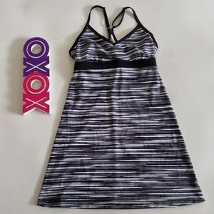 ATHLETA shore break swim dress w/ built in bra